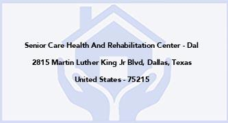 Senior Care Health And Rehabilitation Center - Dal