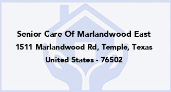 Senior Care Of Marlandwood East