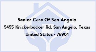 Senior Care Of San Angelo
