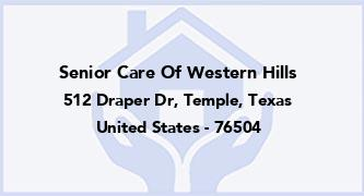 Senior Care Of Western Hills