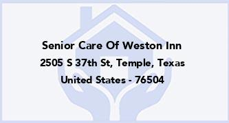 Senior Care Of Weston Inn