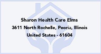 Sharon Health Care Elms