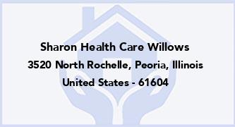 Sharon Health Care Willows