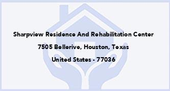 Sharpview Residence And Rehabilitation Center