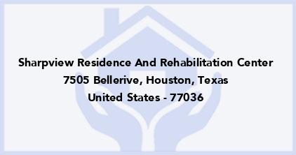 Sharpview Residence And Rehabilitation Center