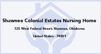 Shawnee Colonial Estates Nursing Home