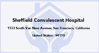 Sheffield Convalescent Hospital
