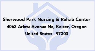 Sherwood Park Nursing & Rehab Center
