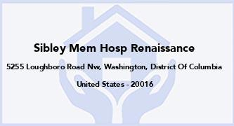 Sibley Mem Hosp Renaissance