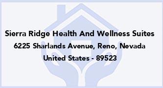 Sierra Ridge Health And Wellness Suites