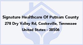 Signature Healthcare Of Putnam County