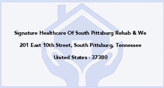 Signature Healthcare Of South Pittsburg Rehab & We