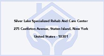 Silver Lake Specialized Rehab And Care Center
