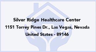 Silver Ridge Healthcare Center