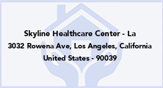 Skyline Healthcare Center - La