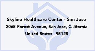 Skyline Healthcare Center - San Jose