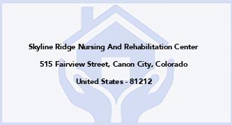 Skyline Ridge Nursing And Rehabilitation Center