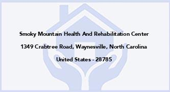Smoky Mountain Health And Rehabilitation Center
