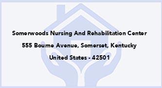 Somerwoods Nursing And Rehabilitation Center