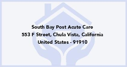 South Bay Post Acute Care