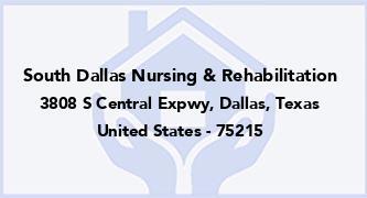 South Dallas Nursing & Rehabilitation