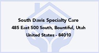 South Davis Specialty Care