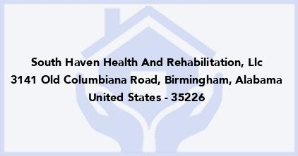 South Haven Health And Rehabilitation, Llc