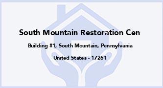 South Mountain Restoration Cen
