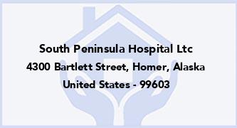 South Peninsula Hospital Ltc