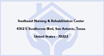 Southeast Nursing & Rehabilitation Center