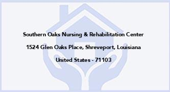 Southern Oaks Nursing & Rehabilitation Center