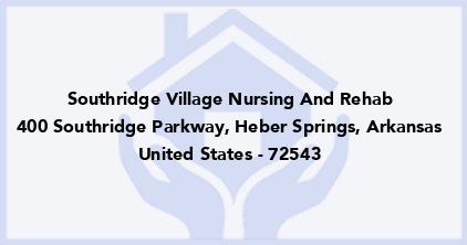 Southridge Village Nursing And Rehab
