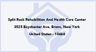Split Rock Rehabilition And Health Care Center