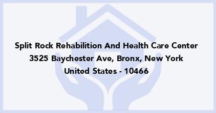 Split Rock Rehabilition And Health Care Center