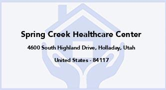 Spring Creek Healthcare Center