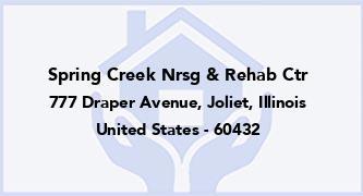 Spring Creek Nrsg & Rehab Ctr