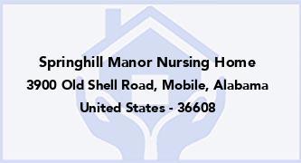 Springhill Manor Nursing Home