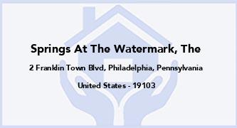 Springs At The Watermark, The