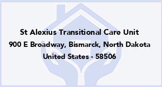 St Alexius Transitional Care Unit