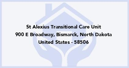 St Alexius Transitional Care Unit
