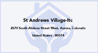 St Andrews Village-Ltc
