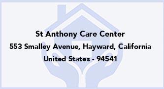 St Anthony Care Center