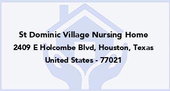 St Dominic Village Nursing Home