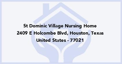 St Dominic Village Nursing Home