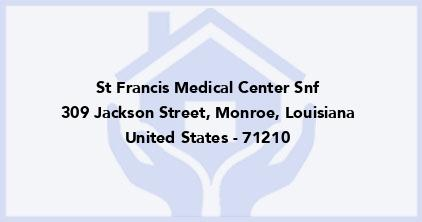 St Francis Medical Center Snf