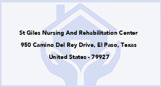 St Giles Nursing And Rehabilitation Center