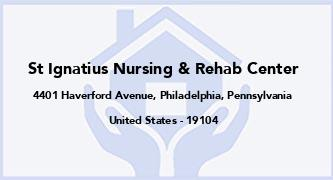 St Ignatius Nursing & Rehab Center