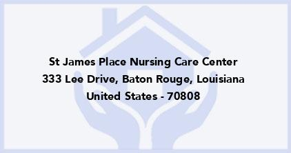 St James Place Nursing Care Center