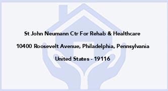 St John Neumann Ctr For Rehab & Healthcare