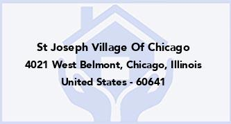 St Joseph Village Of Chicago